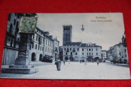 Bassano Del Grappa Vicenza Piazza Vittorio Emanuele 1908 Animata - Vicenza
