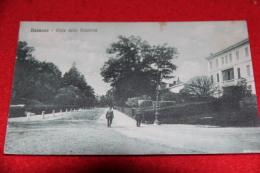 Bassano Del Grappa Vicenza Viale Della Stazione Bahnhof Gare Station 1917 Animata - Vicenza