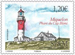 Saint Pierre & Miquelon 2017 - Phare Du Cap Blanc Mnh - Nuevos