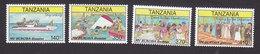 Tanzania, Scott #1608-1611, Mint Never Hinged, Sinking Of MV Bukoba, Issued 1997 - Tanzania (1964-...)