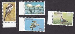 Tanzania, Scott #1641-1644, Mint Never Hinged, Birds, Issued 1997 - Tanzania (1964-...)