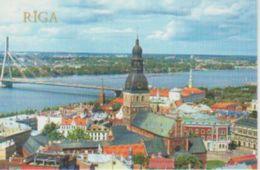 (LETO14) RIGA. PANORAMA OF OD RIGA ... UNUSED - Lettonie