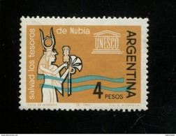 440335854 ARGENTINIE DB 1963 POSTFRIS MINTNEVER HINGED POSTFRIS NEUF YVERT 674 - Neufs