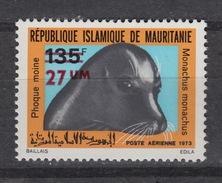 MAURITANIE LP/PA/Air 148 – SEAL – PHOQUE - ZEEHOND (1974) ** MNH - Mauritanie (1960-...)