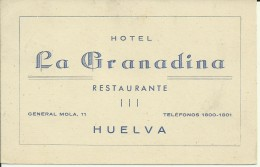 Huelva - Hotel La Granadina - Restaurante - Huelva