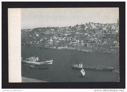 Porto Oporto 1950 Years Portugal Rio Douro River Fleuve Aerial View Vue Aerienne & Barcos Boats Bateaux Postcard - Porto