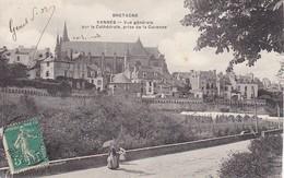 CPA Vannes - Vue Générale Sur La Cathédrale, Prise De La Garenne - Ca. 1910 (31450) - Vannes