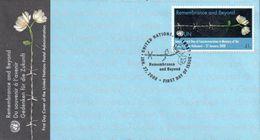 Enveloppe 1er Jour 41c Remembrance And Beyond ONU NY  27/01/2008 - Spécimen - New-York - Siège De L'ONU