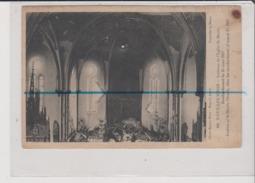CPA - NOEUX LES MINES - Intérieur De L'Eglise St Saint Martin - Bombardement Du 25 Mars 1917 - Noeux Les Mines