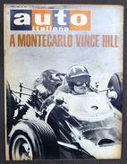 Rivista Automobilismo - Auto Italiana N° 23 - 1965 - Hill Vince A Montecarlo - Unclassified