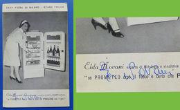 Autografo Elda Novani Su Pubblicità Philco - 1957 Ca. - Autografi