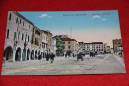 Mestre Venezia Piazza Umberto I Ed. Benetta NV Animata - Venezia