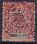 Indochine N° 13 Oblitération Saïgon Central 23 JUIN 03 - Indochina (1889-1945)