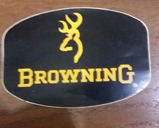 Autocollant  BROWNING Chasse Chasseur  Cerf - Stickers
