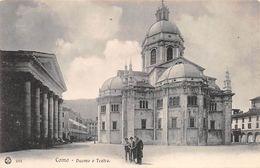 Lago Di Como - Duomo E Teatro - Italia, Italy - Como
