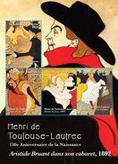 TOGO 2014 - Art, Tableaux, œuvres De Henri Toulouse-Lautrec - Feuillet 4 Val Neuf // Mnh - Togo (1960-...)