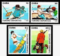 CUBA 1990 N° 3040 à 3043 * * Neufs Lot - 2177 - Nuevos