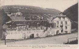 57 - LUTZELBOURG - HOTEL RESTAURANT DE LA GARE - MARCHAND DE VIN - Sonstige Gemeinden