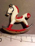 JOUET ANCIEN PLOMB Cheval à Bascule - Toy Memorabilia