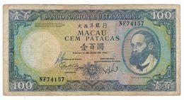Macau 100 Patacas 1984, F. - Macau