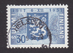 Finland, Scott #352, Used, Arms Of Finland, Issued 1957 - Finland