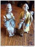 Couple Ceramique Numeroté - Non Classés