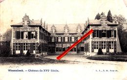 WESEMBEEK - Château Du XVIé Siècle - Superbe Carte - Wezembeek-Oppem