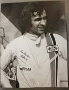Automobilismo Fotografia Tim Schenken 11 - Brabham Ford BT 34 - 1971 Formula 1 - Photography
