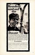 Original-Werbung/ Anzeige 1928 - DR.WANDER'S OVOMALTINE - OSTHOFEN / MOTIV SKI - Ca. 130 X 200 Mm - Werbung
