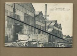 """CPA - Feignies  -  Ateliers De La Société """"Les Aciers """" - Feignies"""