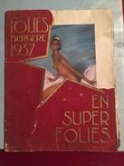MAGAZINE PROGRAMME LES FOLIES BERGERES 1937 Avec JOSEPHINE BAKER - Autres
