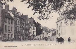 CPA Vannes - Les Vieilles Maisons De La Rue Du Port - 1919 (31480) - Vannes