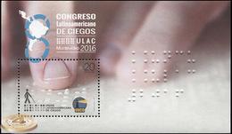 Uruguay. 2016. The 8th Latin American Congress Of The Blind  (MNH OG **) Souvenir Sheet - Uruguay