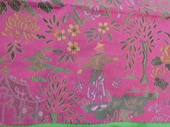 Tissu Decor Asiatique 40x40 Pour Loisir Creatif - Loisirs Créatifs