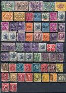 Stamps Us Perfin Lot1 - Zähnungen (Perfins)