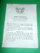 Decreti Regno Sardegna Torino 3° Ufficio Esazione Contribuzioni Dirette 1854 - Old Paper