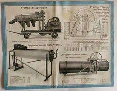 Brochure - Silvio Vona - Macchine Cementifere - Macchine Edili - Old Paper