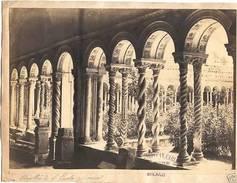 *Foto Ferrario Albumina Chiostro San Paolo 1875 C Roma - Non Classés