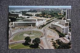 ABIDJAN - Vue Aérienne De La Place De L'Indépendance - Côte-d'Ivoire