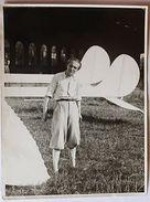 Foto Aeronautica - Pilota Colonnello Mario De Bernardi Databile Negli Anni '30 - Foto