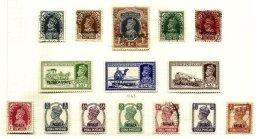 INDIAN STATES, Patiala, Yv 71/74, 77/79, 92/99, */o M/U, F/VF, Cat. € 62 - Patiala
