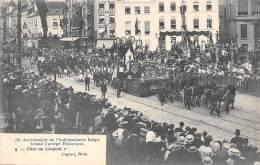 BRUXELLES - 75e Anniversaire - Grand Cortège Historique.  Char De Léopold Ier - Feesten En Evenementen