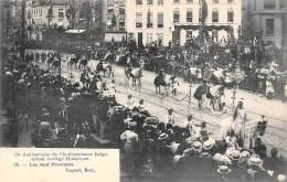 BRUXELLES - 75e Anniversaire - Grand Cortège Historique.  Les Neuf Provinces - Feesten En Evenementen
