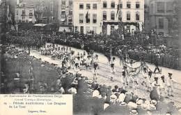BRUXELLES - 75e Anniversaire - Grand Cortège Historique.  Période Autrichienne : Les Dragons De La Tour - Feesten En Evenementen