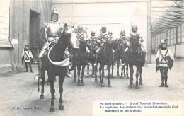 BRUXELLES - 75e Anniversaire - Grand Tournoi Historique.  Le Capitaine Des Archers (1er Maréchal-des-logis Chef Smekens) - Feesten En Evenementen