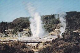 Postcard Geysers Whakarewarewa Rotorua New Zealand  My Ref B22078 - New Zealand