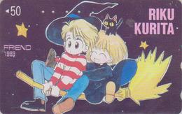 Télécarte Japon / 110-011 - MANGA - FRIEND By RIKU KURITA - ANIME Japan Phonecard - BD COMICS Telefonkarte - 9637 - BD