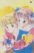 Télécarte Japon / 110-011 - MANGA - FRIEND By RIKU KURITA - ANIME Japan Phonecard - BD COMICS Telefonkarte - 9640 - Comics