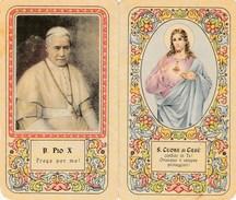 7369.   Calendario 1953 Santuario Parrocchia Del S. Cuore Di Gesù - Salesiani - Bologna - Pio X - Calendriers