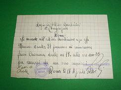 Collezionismo Carabibieri - 2 Permessi D' Uscita - 1941 - Altri